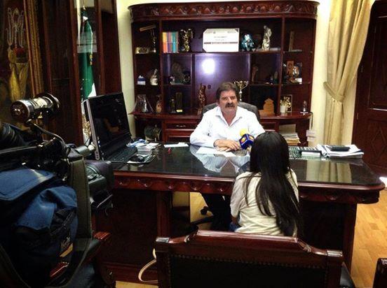 En imagen, el alcalde de Zapotlanejo, Francisco Javier Pulido Álvarez. Foto tomada del Facebook: .facebook.com/GobiernoZapotlanejo