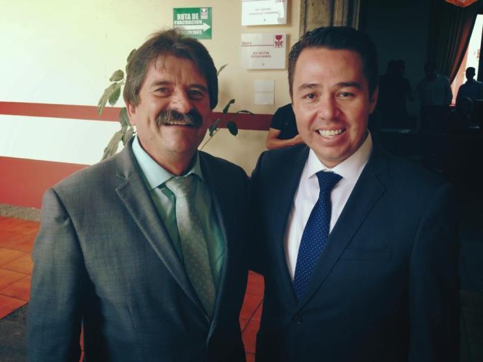 Francisco Pulido y José Luis Munguía. ARCHIVO