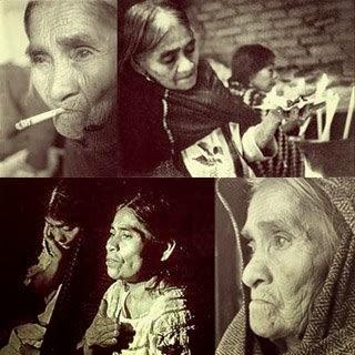 Considerada mujer sabia, ícono para muchos simpatizantes del movimiento hippie. Foto: pickleando.blogspot.com