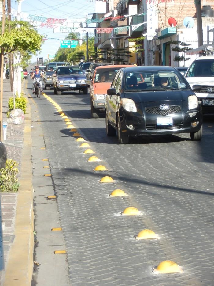 Otra perspectiva de la calle Juárez actualmente. Foto: Lucía C.