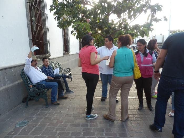 Empleados del INE en Zapotlanejo recibieron su salario con errores nuevamente. Foto: Lucía Castillo