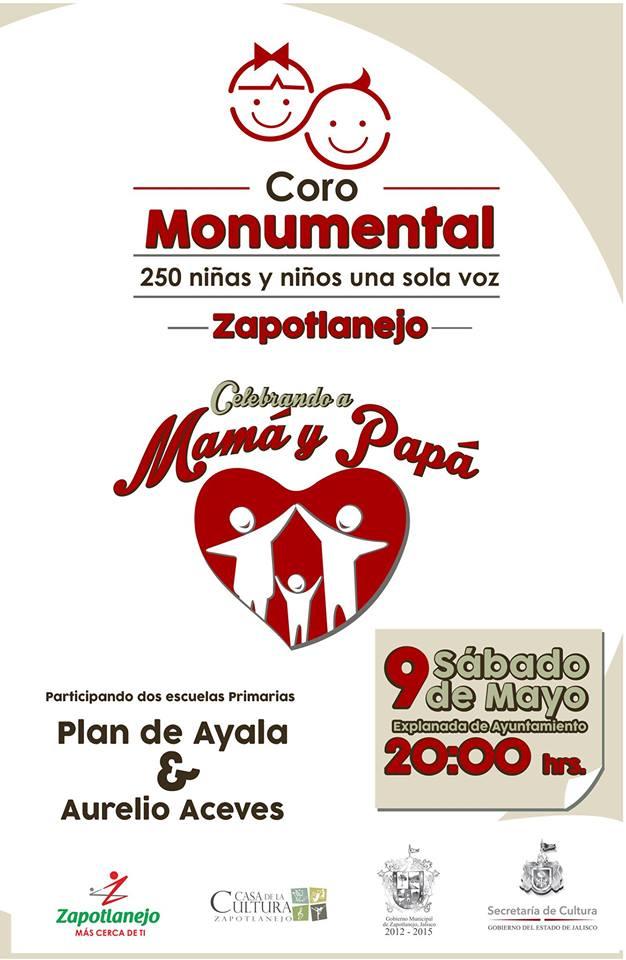 Promocional del evento de mañana en el centro de Zapotlanejo