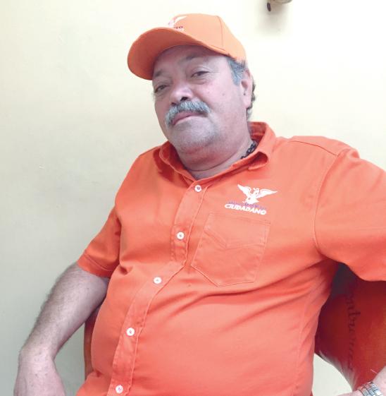 Héctor Álvarez Contreras, candidato de MC a la alcaldía de Zapotlanejo.
