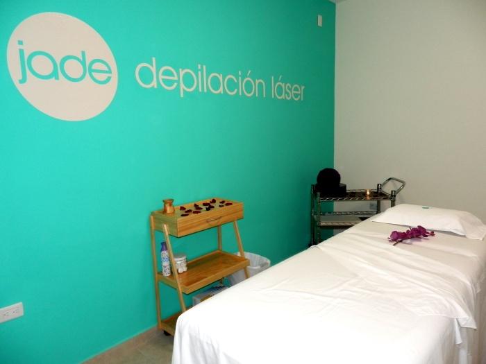 Instalaciones de Jade, depilación láser en Zapotlanejo. Foto: Lucía Castillo