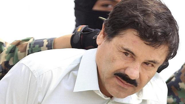 """Joaquín Guzmán Loera. Alias """"El Chapo"""", durante su recaptura"""