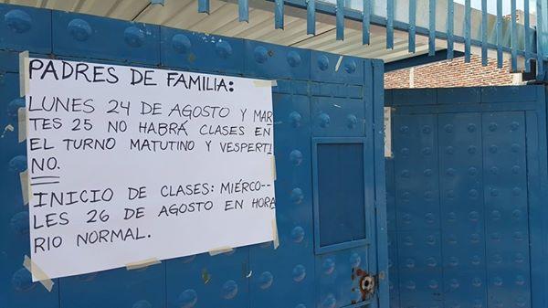Un profesor de la escuela de Huizquilco compartió esta imagen en el grupo de Facebook ¿Y usted, qué opina Zapotlanejo?