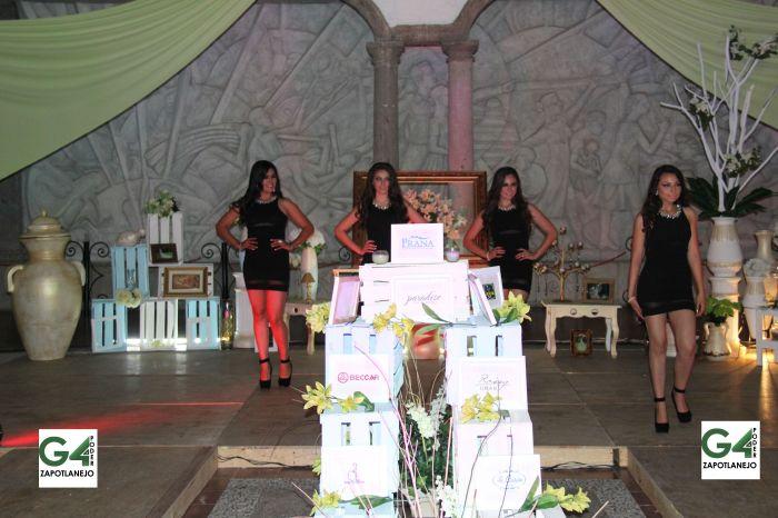Las 4 aspirantes del certamen.