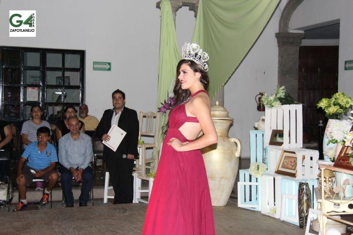 Magdalena Temblador, actual Señorita Zapotlanejo, elegida el año pasado.
