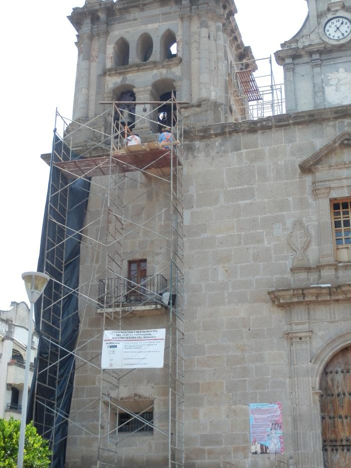 La obra quedaría concluida a finales de octubre. Foto: Lucía Castillo