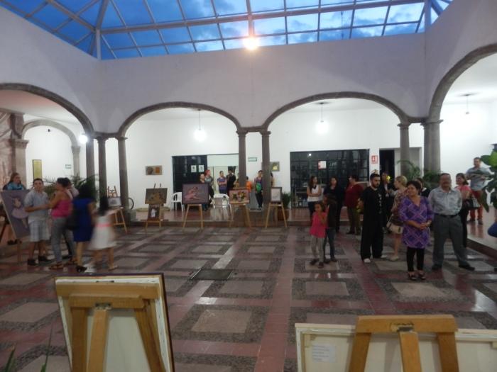 La exposición estará hasta el sábado. Foto: Lucía Castillo