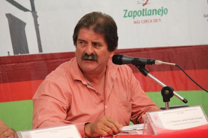 Francisco Javier Pulido deja este miércoles 30 de septiembre su cargo como alcalde de Zapotlanejo. Foto: Lucía Castillo