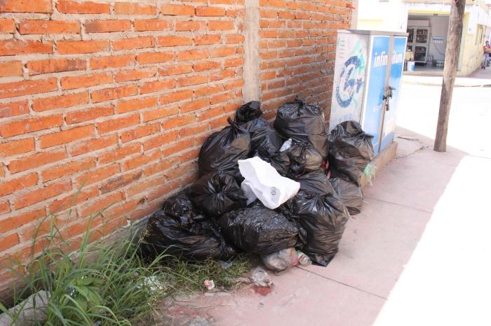 Calle Morelos´esquina con Iturbide. Foto: Lucia C.