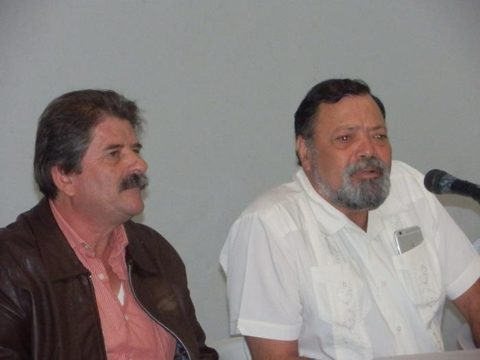En imagen, Francisco Pulido y Héctor Álvarez. Foto: Lucía C.