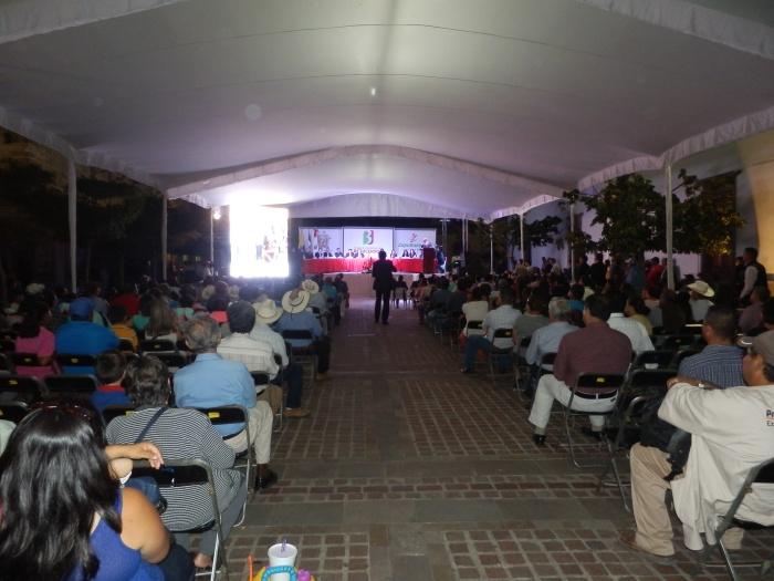 La asistencia del último informe del actual alcalde. Foto: Lucía Castillo