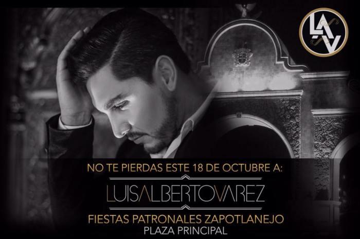 Promocional de Luis Alberto Varez en Facebook