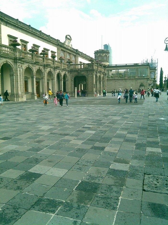El castillo de Chapultepec. Foto: Lucía Castillo