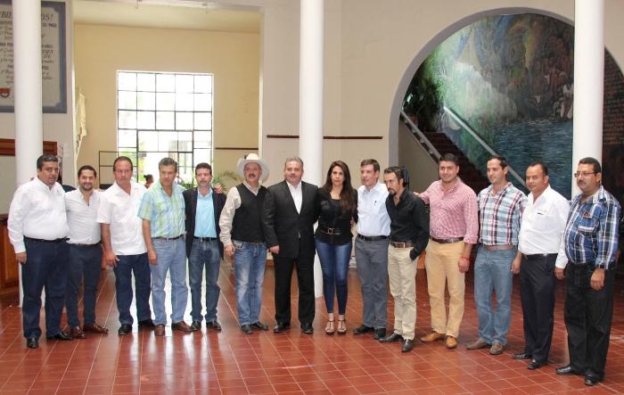 Alcaldes de municipios del sureste de Jalisco en el Ayuntamiento de Chapala