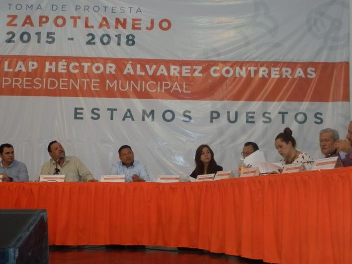 Segunda sesión de cabildo del ayuntamiento 2015-2018. Foto: Lucía C.