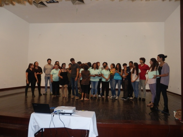 Los participantes del taller. Foto: Lucía C.