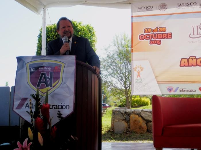 Héctor Salgado Rodríguez, director del Instituto Tecnológico Superior de Zapopan. Foto: Lucía C.