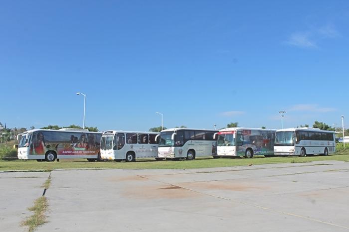Foto de los camiones que la administración pasada adquirió. Imagen tomada del portal web del Ayuntamiento 2012-2015