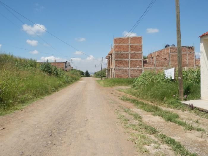 Una calle de la colonia Presidentes en Zapotlanejo. Foto: Lucía Castillo