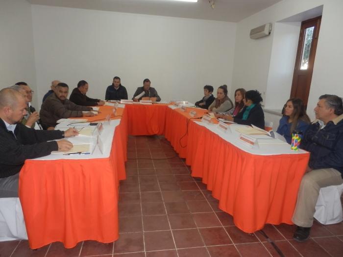 Cabildo del Ayuntamiento de Zapotlanejo esta mañana del 15 de diciembre. Foto: Lucía C.
