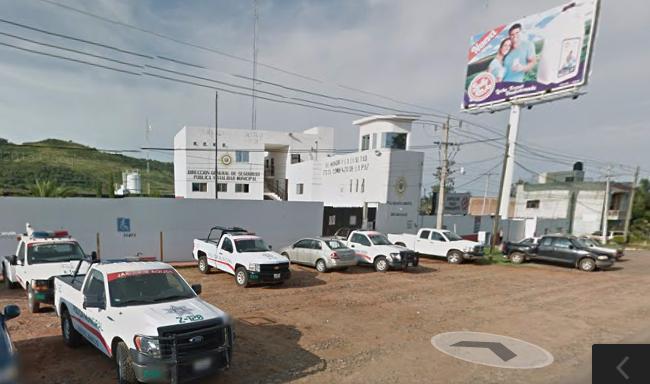 Módulo de Seguridad a la entrada de Zapotlanejo. Imagen tomada de Google Maps