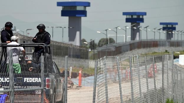 Penal de máxima seguridad del Altiplano, en Almoloya de Juárez, Estado de México. (Foto: CNN México)