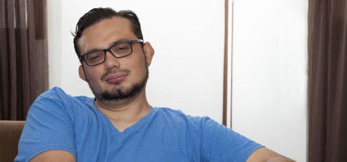 Warren Ulloa, escritor costarricense (Foto: Cortesía)