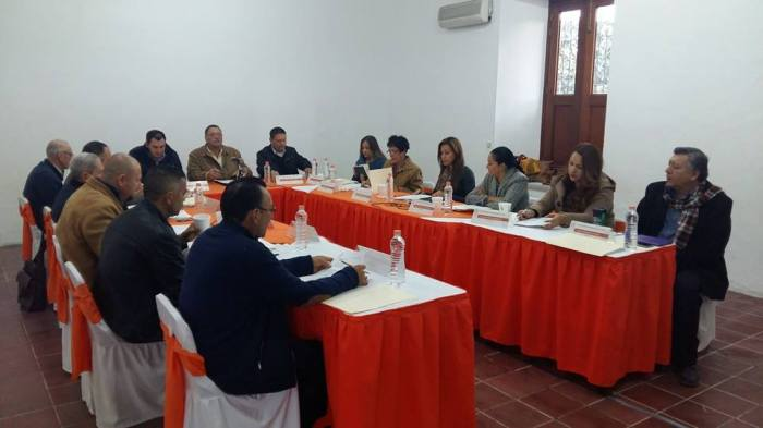 Sesión de Ayuntamiento celebrada el 10 de febrero, donde se avalaron las primeras 15 licencias de las 22 que se autorizaron en septiembre
