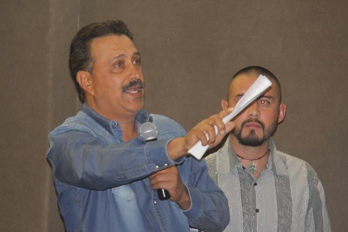 Martín Efrén Ramírez, presidente de Unidad Revolucionaria y exdelegado de El Saucillo