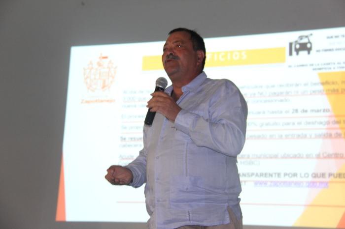 Héctor Álvarez, alcalde de Zapotlanejo