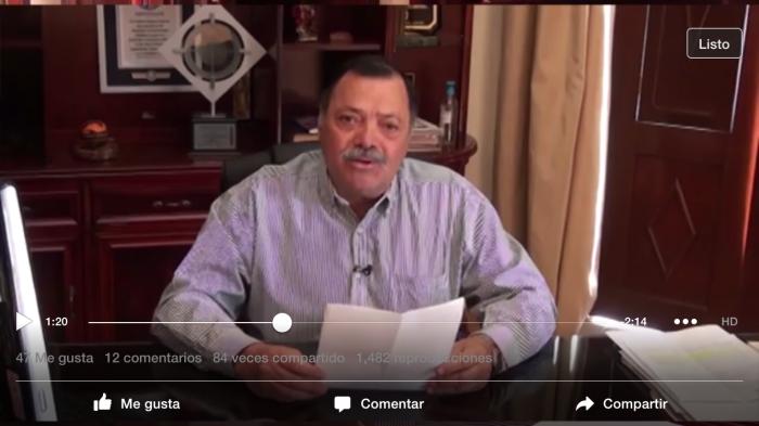 Ayer el alcalde Héctor Álvarez informó sobre la cancelación del programa de residentes a partir de enero 2017