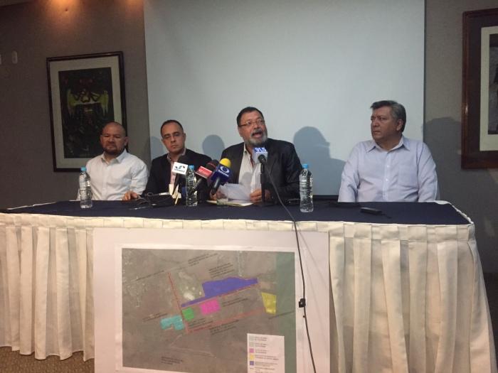 De izq. a der. Ivan Celvera, Ricardo Morales, Héctor Álvarez y Carlos Cervantes