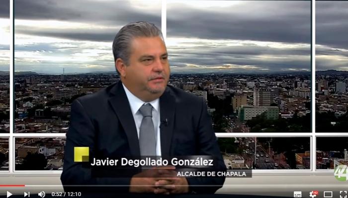 Javier Degollado. Presidente Municipal de Chapala