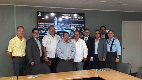 Reunión autoridades de Zapotlanejo y Oklahoma (Foto: Cortesía)