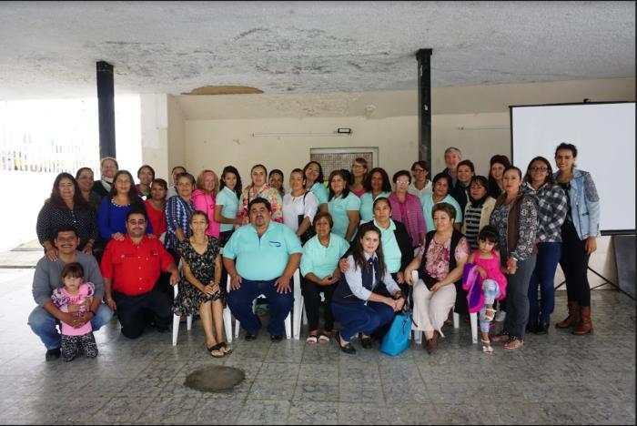 Integrantes de la Asociación Civil Tu y yo en sinergia. Foto: Efrén Olivarez