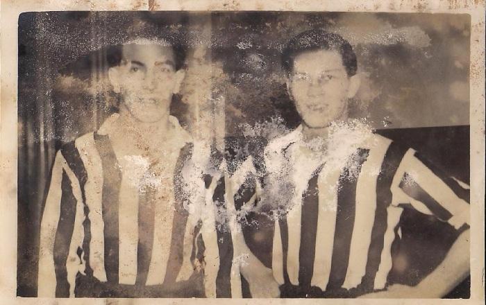 Jorge y Eduardo formaron parte de la época más gloriosa de las urracas. (Foto: Elizabeth Robledo).
