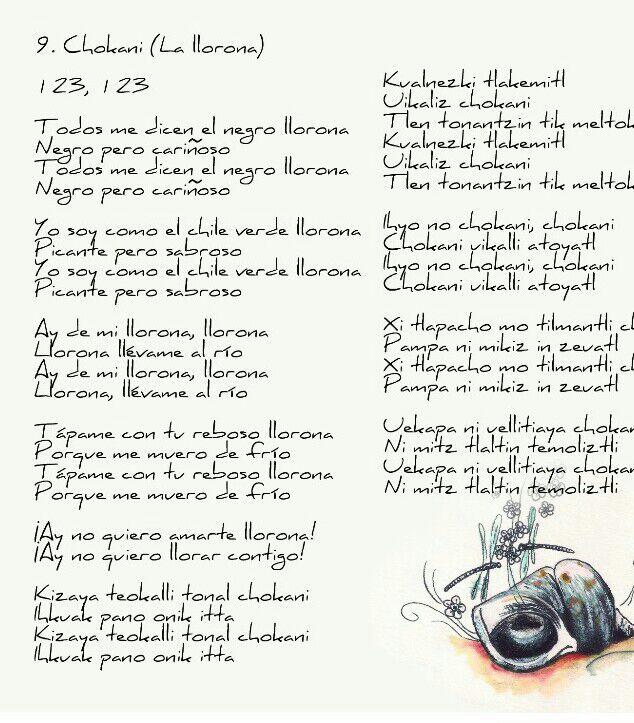 Uno interpreta así La Llorona, y comparte la letra en español y nahuatl en el interior de su nuevo disco.