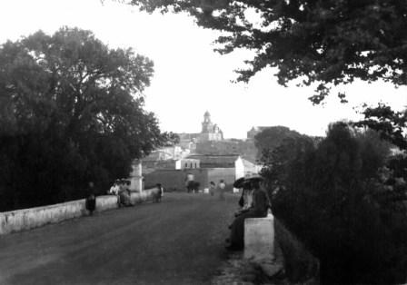 Puente Juan Terrírquez en 1950. Foto: zapotlanejo.gob.mx