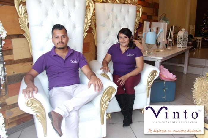 El personal de Vinto busca cumplir con los sueños y los objetivos que tienen los clientes para sus eventos.