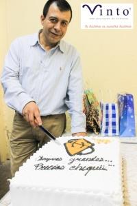 Dl Director General de Vinto, Francisco Neave, habla de los 8 años de experiencia que tiene la empresa.