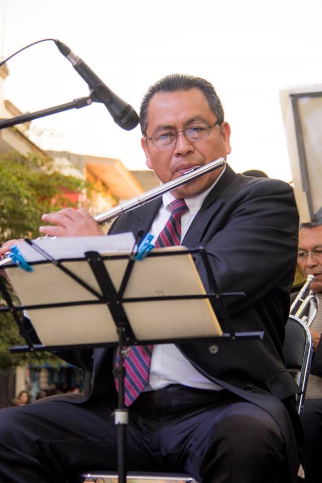 La orquesta de Gobierno de Zapopan amenizó antes y después del acto conmemorativo de la fundación de Zapotlanejo. Foto: Edgar Olivares