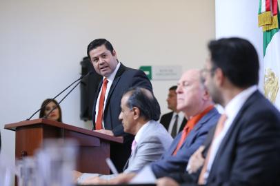 Gabriel Torres, titular del Sistema Universitario de Radio y Televisión. Foto: Prensa UdeG