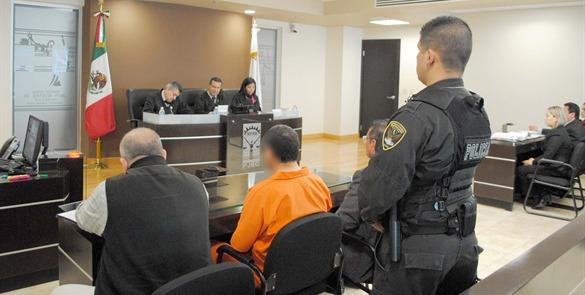 Imagen de un juicio oral, que forma parte del Nuevo Sistema de Justicia Penal, en el que los agentes de policía son una pieza clave para su funcionamiento. (Foto ilustrativa)