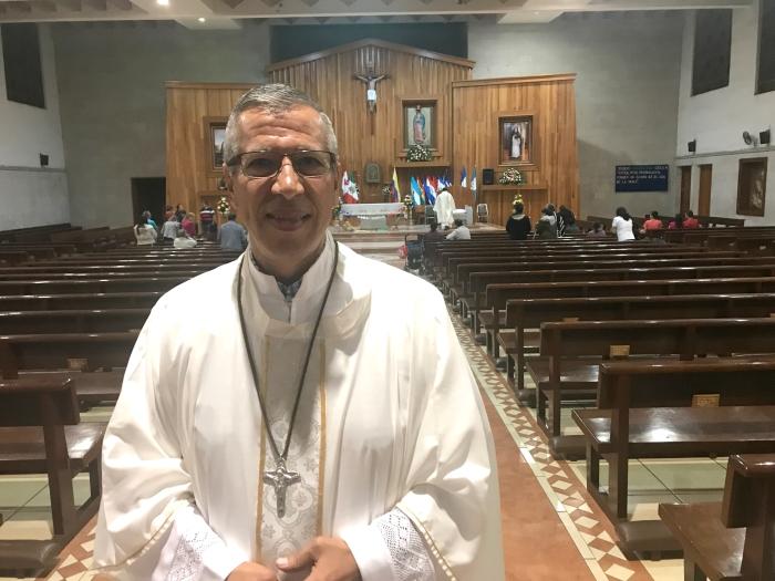 Oswaldo Pulido Reynoso es sacerdote misionero Xaveriano y estará en Colombia a partir de este lunes